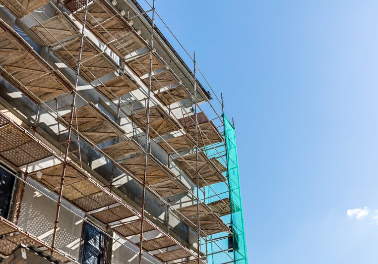 site scaffolding